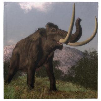 Mammoth - 3D render Napkin