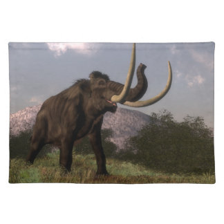 Mammoth - 3D render Placemat