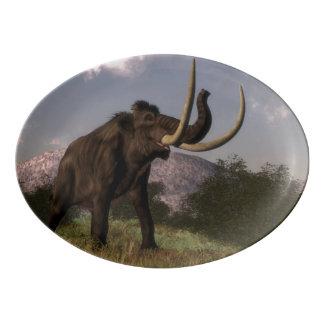 Mammoth - 3D render Porcelain Serving Platter