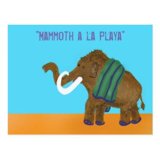 Mammoth a la Playa... Postcard