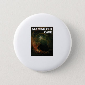 mammoth cave brown 6 cm round badge