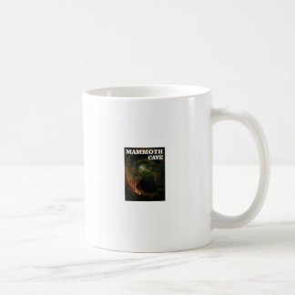mammoth cave brown coffee mug