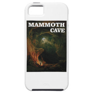 mammoth cave brown iPhone 5 cases