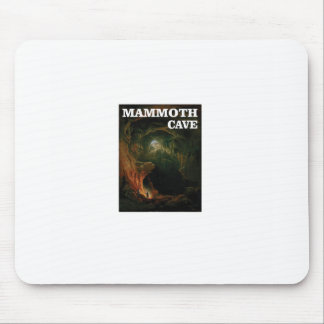 mammoth cave brown mouse pad