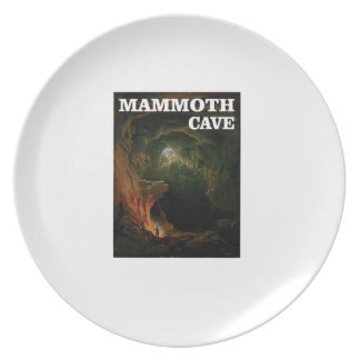 mammoth cave brown plate