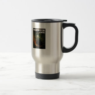 mammoth cave brown travel mug