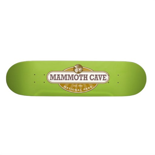 Mammoth Cave National Park Skate Board Deck
