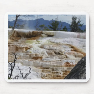 Mammoth Hot Springs Mouse Pad