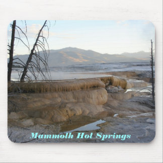 Mammoth Hot Springs Mousepad