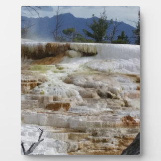 Mammoth Hot Springs Photo Plaques