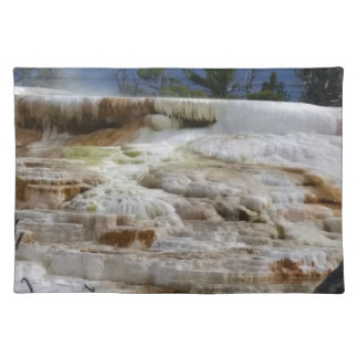 Mammoth Hot Springs Placemat