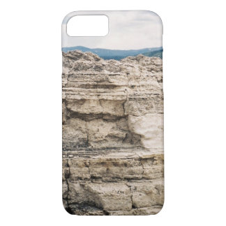Mammoth Hot Springs Rock Formation iPhone 7 Case