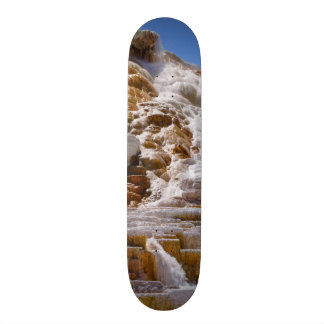 Mammoth Hot Springs Skateboard Decks