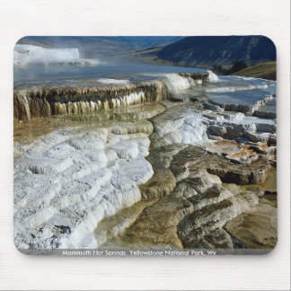 Mammoth Hot Springs, Yellowstone National Park, Wy Mouse Pad