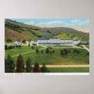 Mammoth Hotel, Yellowstone Poster