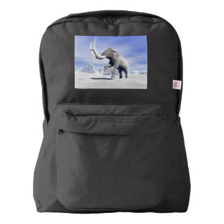Mammoth in the wind backpack