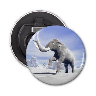 Mammoth in the wind bottle opener