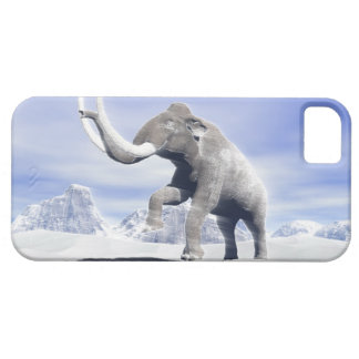 Mammoth in the wind case for the iPhone 5