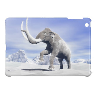 Mammoth in the wind cover for the iPad mini