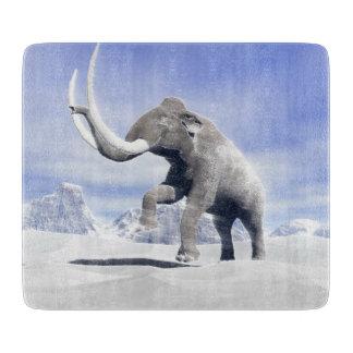 Mammoth in the wind cutting boards