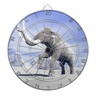 Mammoth in the wind dartboard
