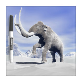 Mammoth in the wind Dry-Erase whiteboards