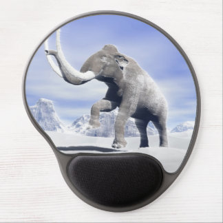 Mammoth in the wind gel mouse pad