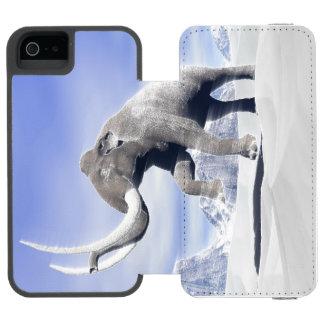 Mammoth in the wind incipio watson™ iPhone 5 wallet case