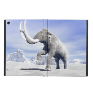 Mammoth in the wind iPad air covers