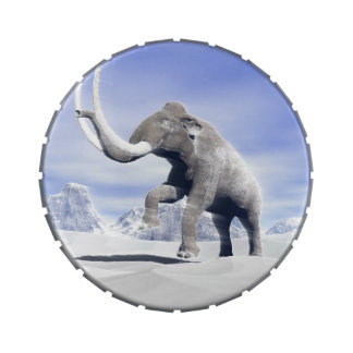 Mammoth in the wind jelly belly tin