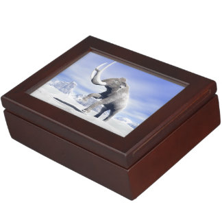 Mammoth in the wind keepsake box
