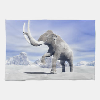 Mammoth in the wind kitchen towels