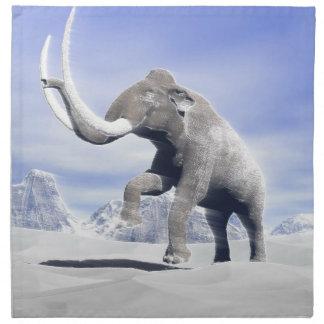 Mammoth in the wind napkin