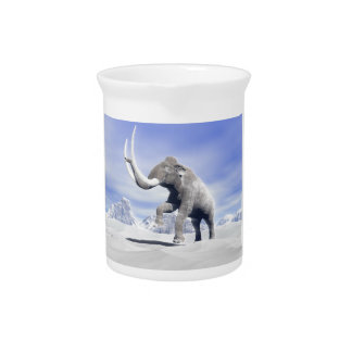 Mammoth in the wind pitcher