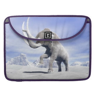 Mammoth in the wind sleeve for MacBook pro