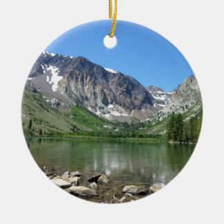 Mammoth Lake Ceramic Ornament