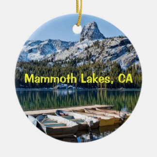 Mammoth Lakes Keepsake Ceramic Ornament