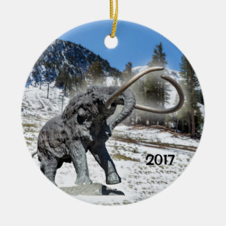 Mammoth Mountain, CA Ceramic Ornament