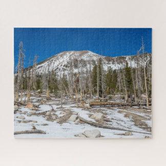 Mammoth Mountain View from Horseshoe Lake Jigsaw Puzzle
