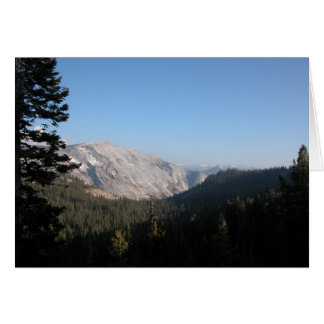 Mammoth Mountain View Greeting Card