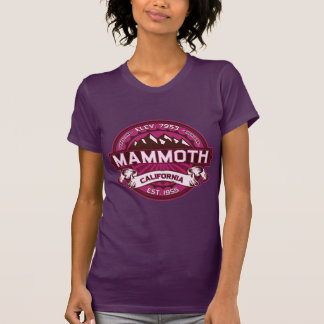 Mammoth Mtn Raspberry T-Shirt