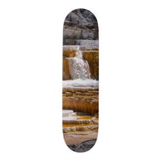 Mammoth Springs Falls Skate Board