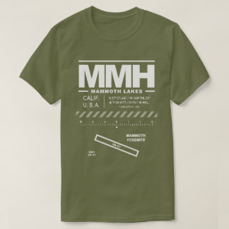 Mammoth Yosemite Airport MMH T-Shirt