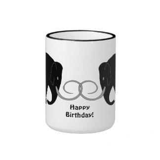 Mammoths Birthday Ringer Mug