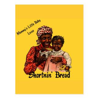 Mammy s Little Baby Loves Shortnin Bread Postcard