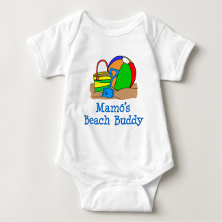 Mamo's Beach Buddy Baby Bodysuit