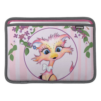 "MAMZELL CUTE  CARTOON Macbook Air 11"" Horiszontal MacBook Sleeve"