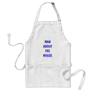 MAN ABOUT THE HOUSE STANDARD APRON