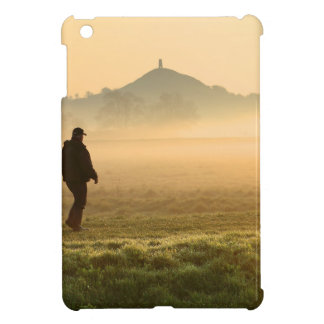 Man and Dog Mountain Mist Cover For The iPad Mini