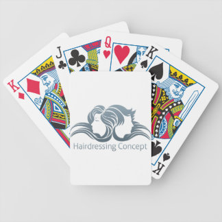 Man and Woman Hair Concept Card Deck